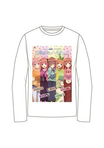オリジナルロングTシャツ (C)春場ねぎ・講談社/「五等分の花嫁∬」製作委員会