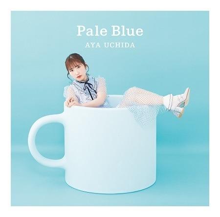 内田彩「Pale Blue」初回限定盤ジャケット